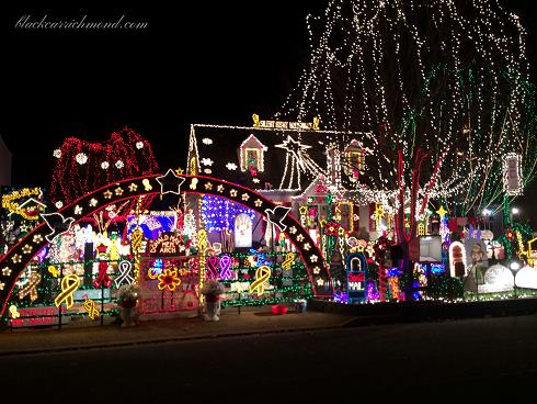 The ungrinching of 2014 how tacky lights turned into holiday cheer over 170000 lights and almost 800 decorations lovingly crafted by al and esther thompson adorn this glen allen home making it a dazzling first stop solutioingenieria Gallery