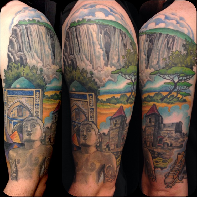 As the third most tattooed city in the us how do you pick for All city tattoo