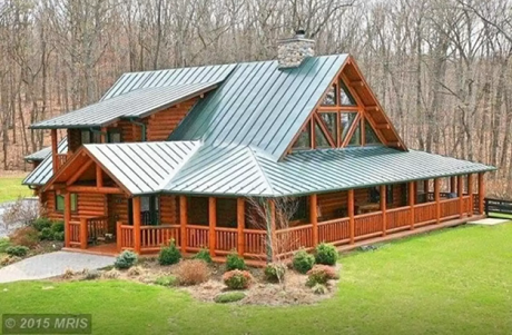 A Little Pricer Than Most On The List, But Itu0027s A Pretty Awesome Lodge. The  Spacious Log Cabin Is On 17 Acres Of Land At The Foothills Of The George ...