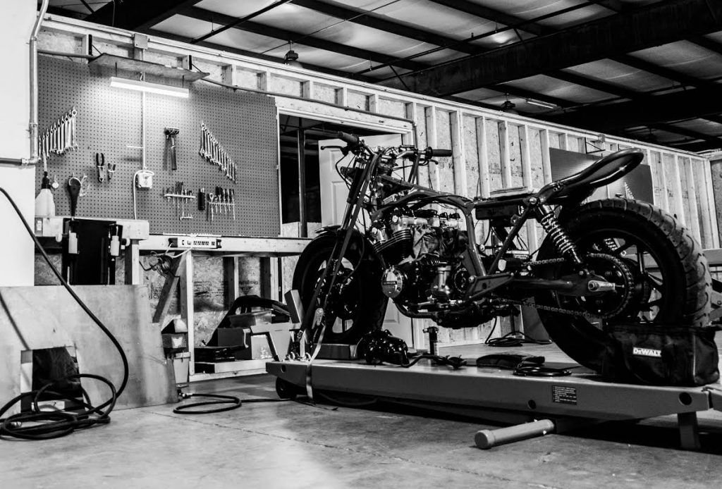 Local bike garage doubles as repair shop and diy space for finishedbikeg solutioingenieria Gallery