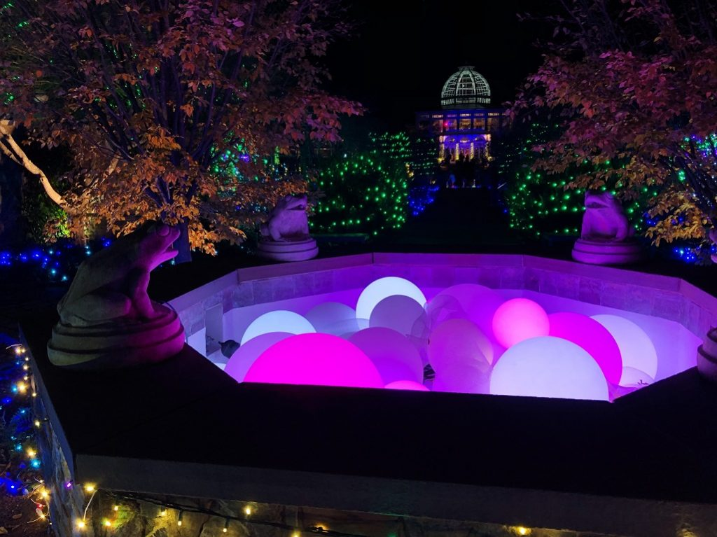 Lewis Ginter Celebrates The Holidays With A Million Points Of Light Rva Mag