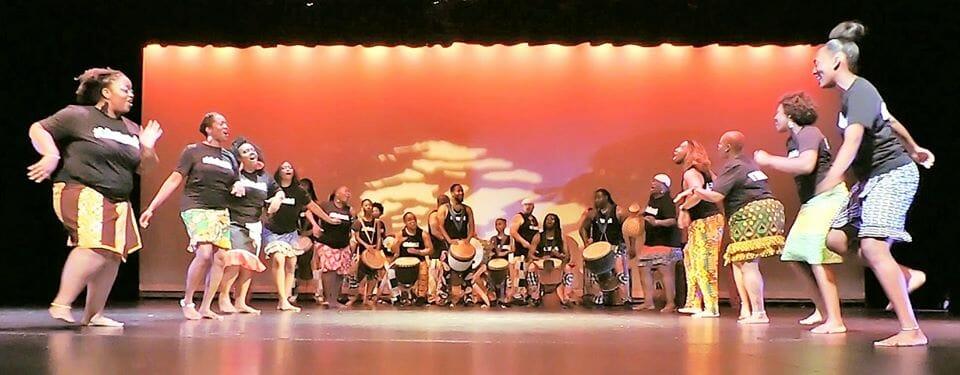 Ezibu Muntu African dance troupe